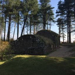 The old bothy in Tentsmuir - a good camping and stopping place