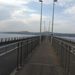 Setting out across the long Tay bridge...