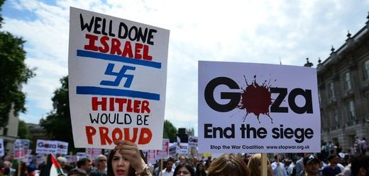 BRITAIN-PALESTINIAN-ISRAEL-CONFLICT-GAZA-DEMONSTRATION