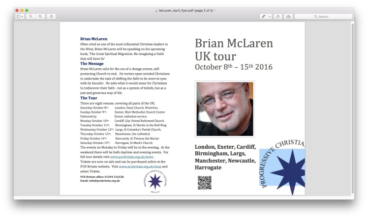 McClaren Tour