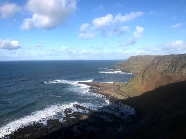 Giants Causeway Cliffs