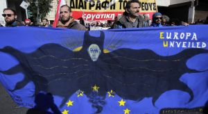 Nationwide Strike Over Anti-Austerity Measures In Greece
