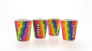 Costa Coffee_Rainbow Cup group
