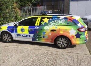 Police rainbow