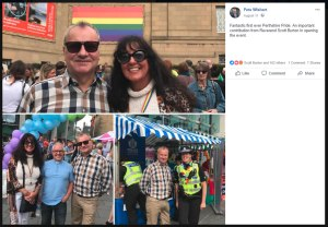 Pete Wishart at Perth Pride