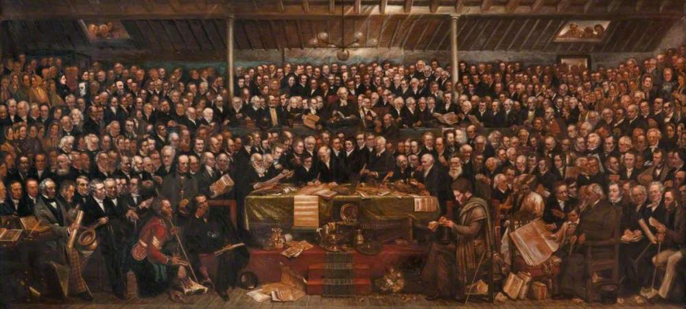 Hill, Amelia Robertson, 1820-1904; The First General Assembly of the Free Church of Scotland